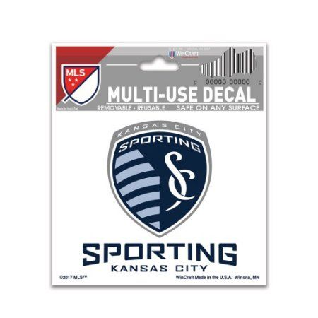 X Alt Logo Decal Sporting Kansas City Sporting Kansas City And - Sporting kc car decals