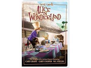 Alice In Wonderland Charlotte Henry, Richard Arlen, W.C. Fields, Cary Grant, Gary Cooper, Sterling Holloway, Edward Everett ...
