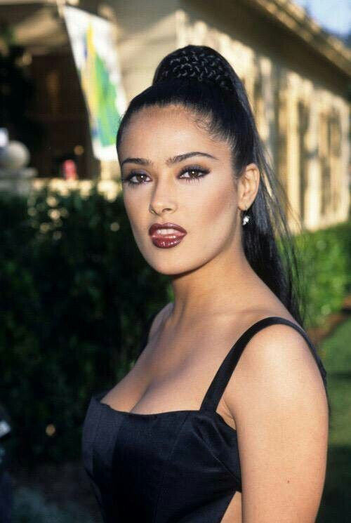 Remember In The When Everyone Had Uber Skinny Highly A See More Salma Hayek