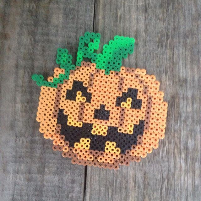 Halloween hama beads by maries_perlerart