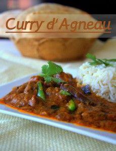 Curry d'agneau - Amour de cuisine