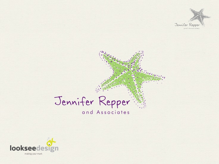 Jennifer Repper and Associates - Logo Designed by Looksee Design