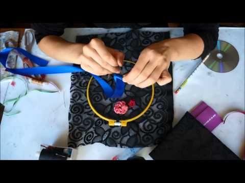 Watch Вышивка Лентами Цветочная Рапсодия - Вышивание Лентами - YouTube