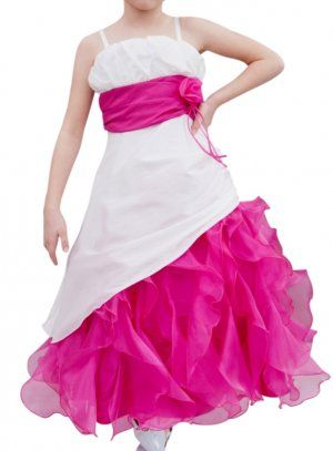 Robe De Ceremonie Fille Rose Fushia Fushia And Company Pinterest
