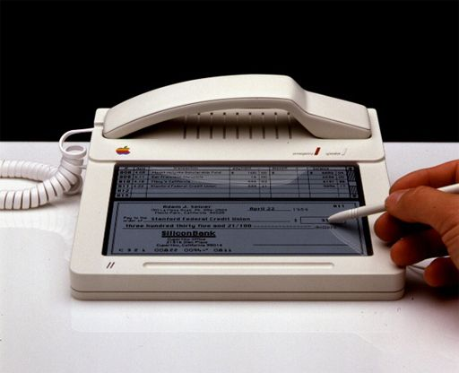 apple first tactile phone