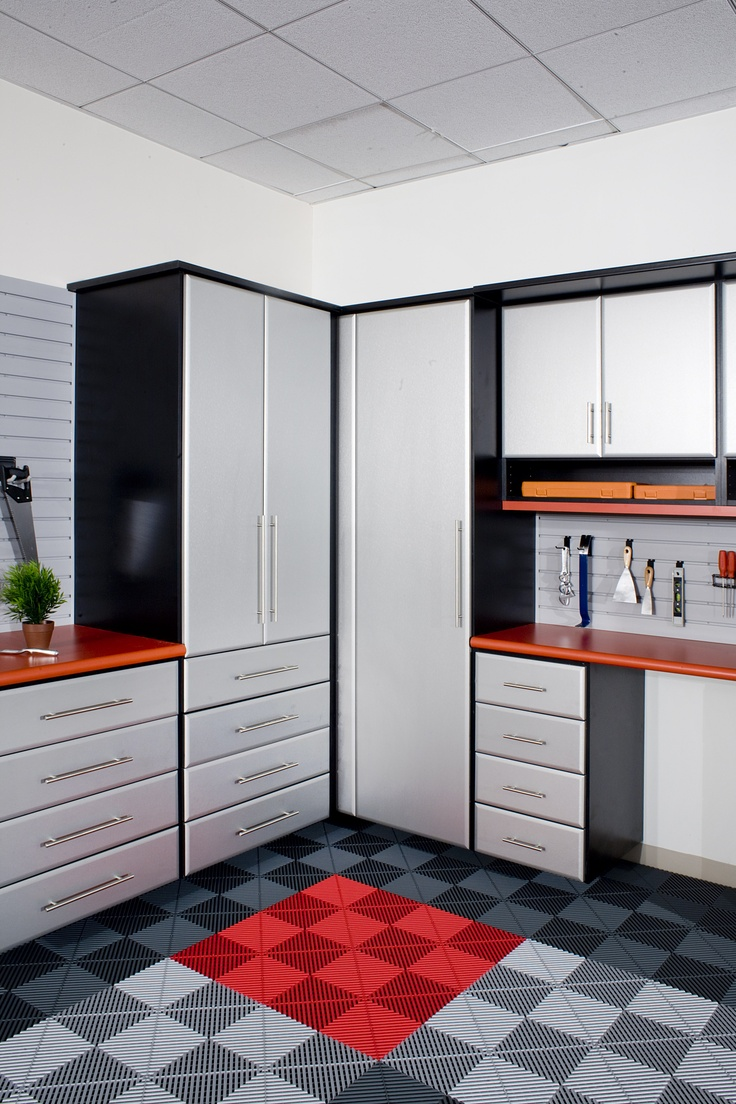 12 best chrome3 garages images on pinterest garage for Closet world garage