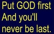 Put GOD FIRST and you'll never be LAST: Amazing Inspiration, God Words, God 1St, At Blessed, Christian Life, Favorite Quotes, Inspiration Quotes, Blessed Families, God First