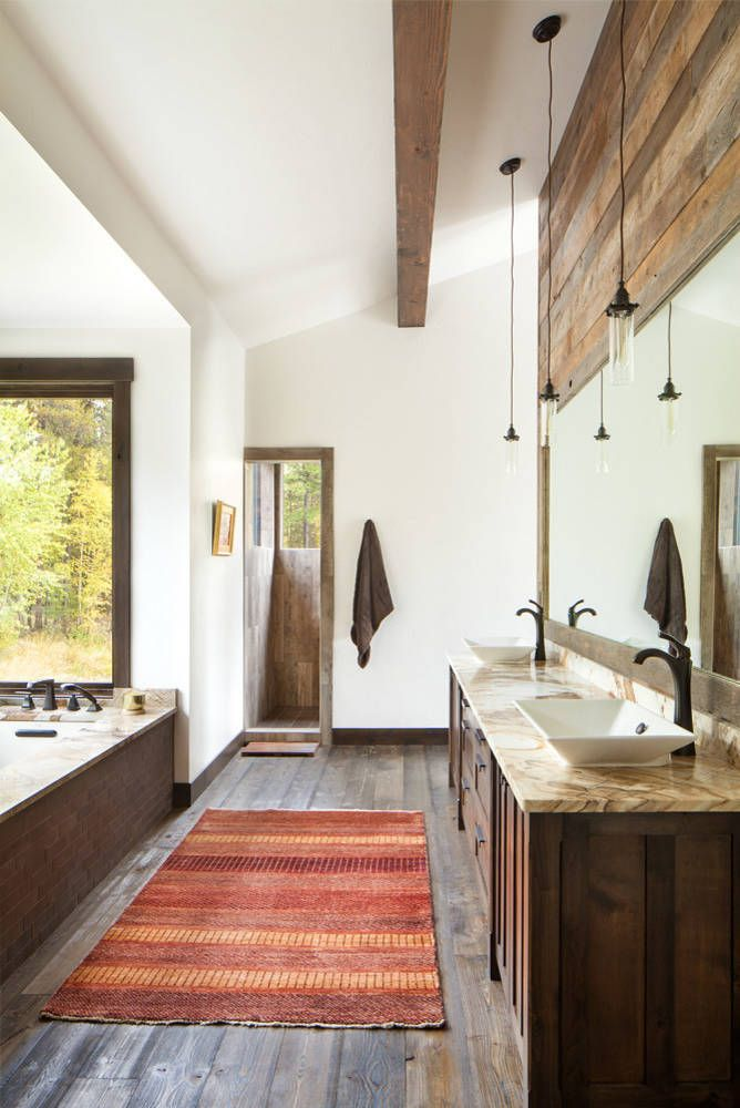 Best 25 Modern Country Bathrooms Ideas On Pinterest