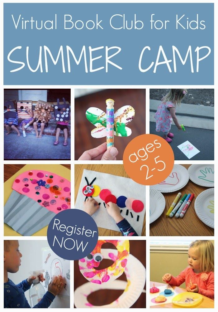 Announcing Virtual Book Club for Kids Summer Camp 2014!! 3 Weeks of Book Themed Activities.