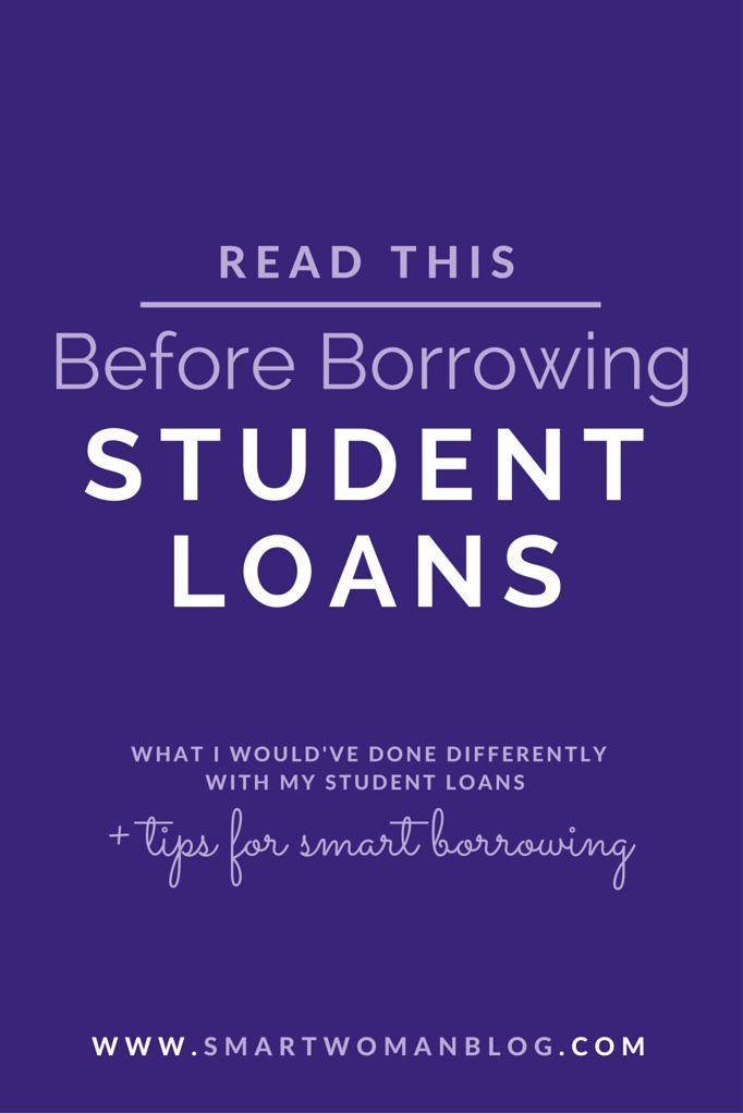 You Need to Read this before Borrowing Student Loans! I made some stupid mistakes and borrowed $40,000 in student loans over 4 years. I don't want YOU making the same mistakes!! Read about what these are now... #studentloans