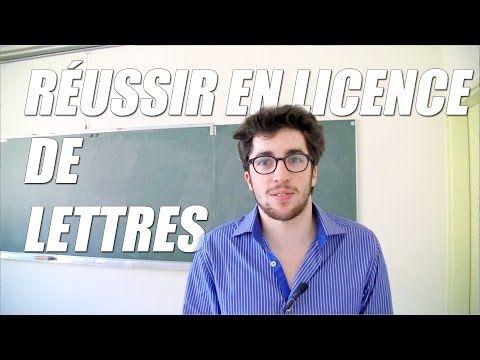 ▶ Réussir en licence de Lettres ? - Orientation Post-Bac - YouTube