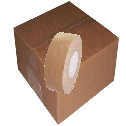 Tan Beige Duct Tape 2 Quot X 60 Yard Roll 24 Roll Case In