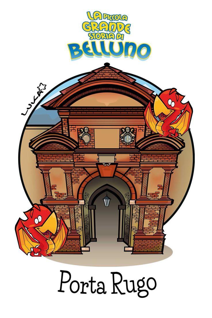 Porta Rugo Belluno Dolomiti Veneto Italia by Luca Stella