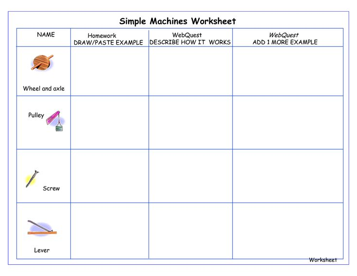 simple machines for kids compound machines worksheet pdf school elementary science. Black Bedroom Furniture Sets. Home Design Ideas