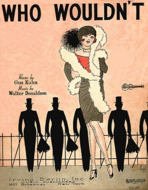 "Sheet Music for Irving Berlin's ""Who Wouldn't?"" - 1926"