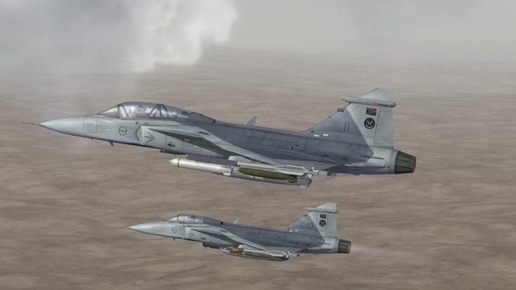 JAS-39C/D Gripen,   SAAF