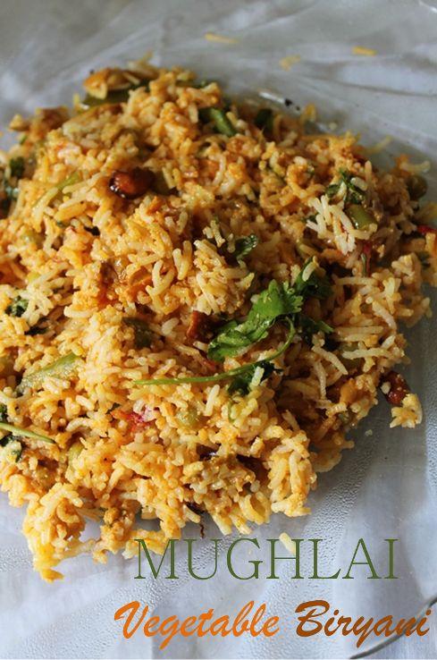 YUMMY TUMMY: Mughlai Vegetable Biryani Recipe / Mughlai Veg Biryani Recipe