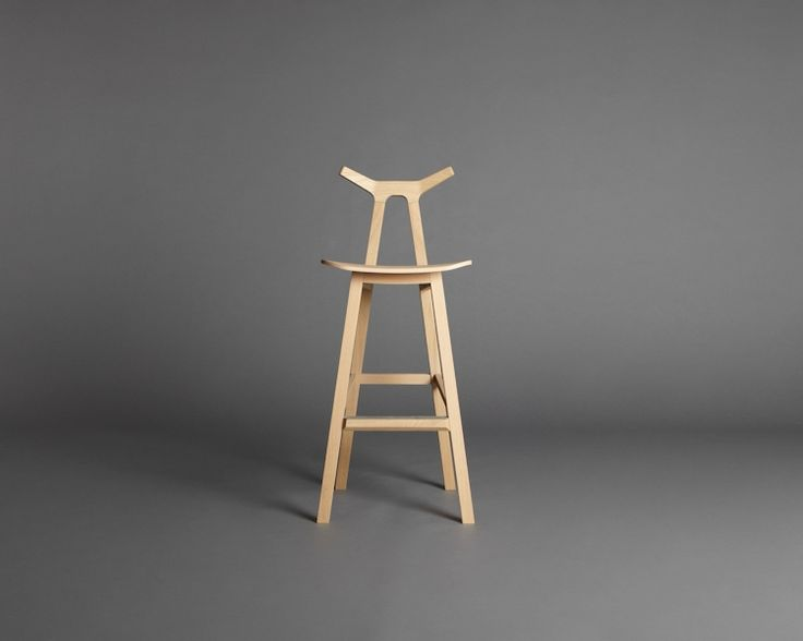 Mjölk : Nara Bar Stool By Shin Azumi   1830