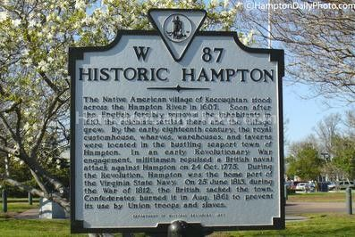 Hampton VA  Moved here from Germany in 1963