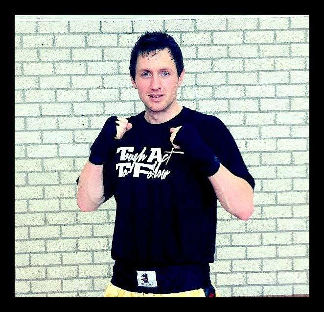 Tai boksing with TATF tee