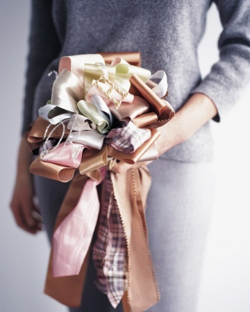 """Shower Traditions: The Etiquette of Bridal Showers. """"The tradition of the groom showing up with flowers just before his fiancee opens the gifts is definitely back,"""" says Weiss. Guests who haven't met the lucky guy before often look forward to this part of the shower for that very reason."""""""