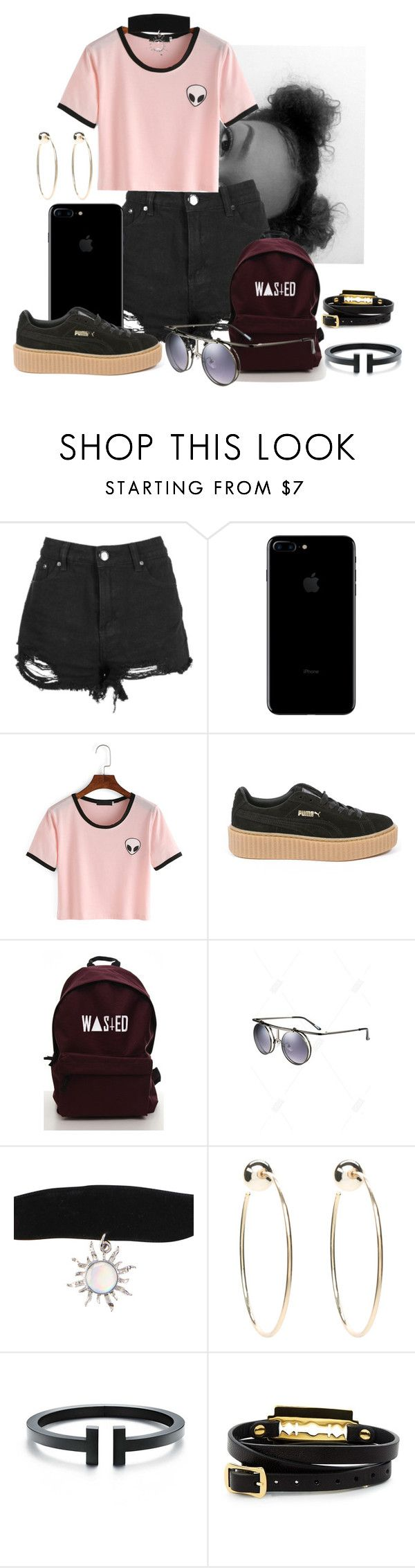"""""""Untitled #147"""" by millanj-fashion on Polyvore featuring Boohoo, Puma, Bebe and McQ by Alexander McQueen"""