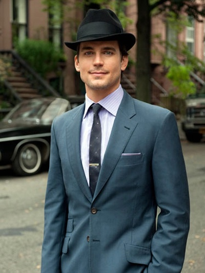 Matthew Bomer aka the Man with the fedora <3
