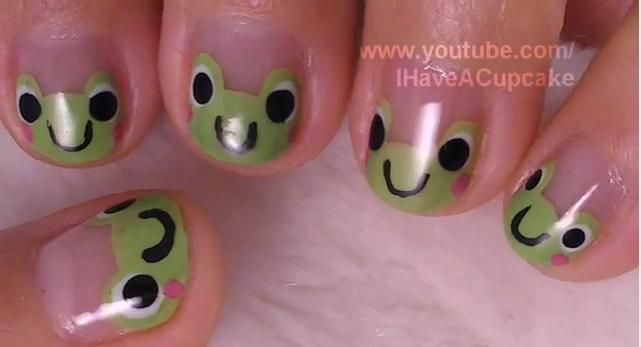 frog nail art so cute!Frogs Nails Art, Nail Art Designs, Google Search, Nails Ideas, Finger Nails, Fingernail Toenails, Nails Art Design, Prince Charms, Fingers Nails