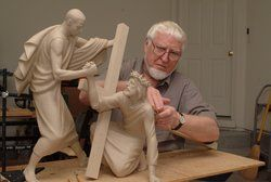 Alan Collins, sculptor of 'silent sermons,' dies at 88 - http://adventistnewsonline.com/alan-collins-sculptor-of-silent-sermons-dies-at-88/ #Adventist, #AdventistNews #adventist #adventista #adventistnews