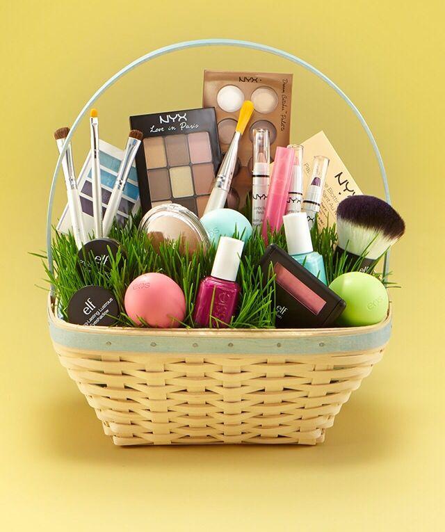 24 best christmas ideas images on pinterest basket ideas cute easter basket negle Images