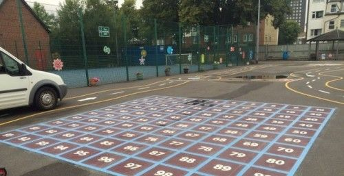 Maths Playground Activity Designs in Abercych #Play #Area #Maths...