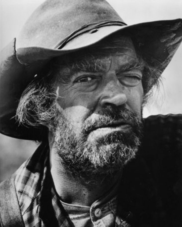 Jack Elam. Played a number of Ugly, Bad, Funny and Lovable Western Characters. He was a Great Actor...