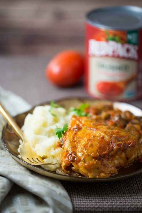 Tomato and Red Wine Braised Chicken