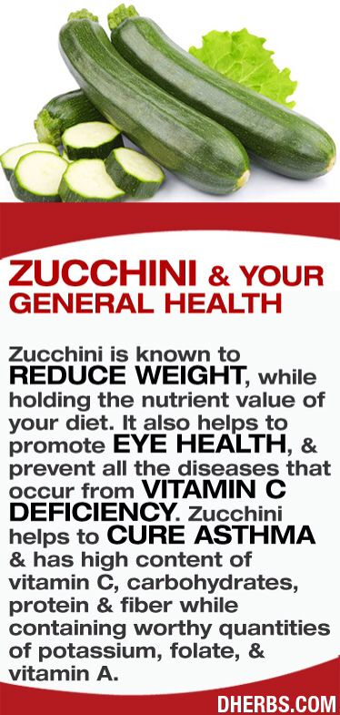 JOJO POST FOREVER YOUNG: Zucchini is known to reduce weight, while holding the nutrient value of your diet. It also helps to promote eye health, & prevent all the diseases that occur from vitamin C deficiency. Zucchini helps to cure asthma & has high content of vitamin C, carbohydrates, protein & fiber while containing worthy quantities of potassium, folate, & vitamin A.