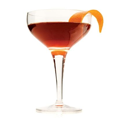 Winter Manhattan Cocktail. | Uses vodka, cranberry juice and orange juice. Best Christmas Cocktail Recipes | Christmas Drinks Recipes. | Head on over to www.redonline.co.uk, or click the picture above, for this recipe.