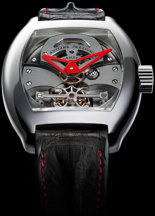 ANTOINE PREZIUSO GTS Grand Tourbillon Sport watch | Raddest Looks On The…