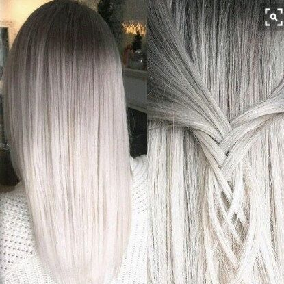 247 best halo hair extensions by cherie images on pinterest halo 8a remy human hair extensions double weft clip ins granny white silver 8 24 pmusecretfo Gallery