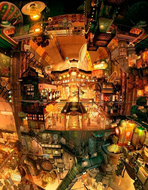 Kawarimashi - Escher-esque