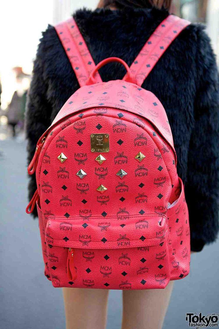 Mcm Extra Mini Backpack Size- Fenix Toulouse Handball 7a23e0b69bde1