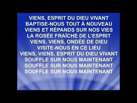 VIENS ESPRIT DU DIEU VIVANT – Corinne Lafitte – JE…