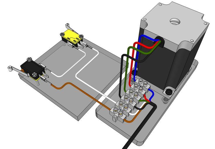 wire limit switches to jk02 m mechanics arduino cnc. Black Bedroom Furniture Sets. Home Design Ideas