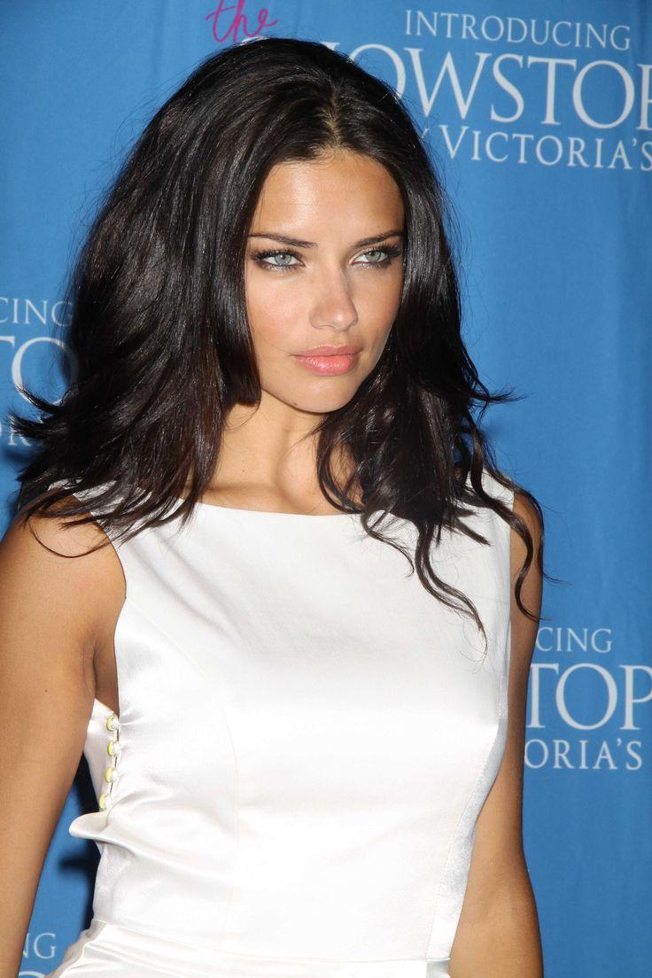 Adriana lima hairstyles 2014 - Adriana Lima I Love Her Hair