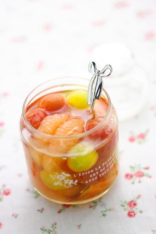 グレープフルーツ&ミニトマトのシロップ漬け | 小春ちゃんオフィシャルブログ「ぽかぽかびより」Powered by Ameba