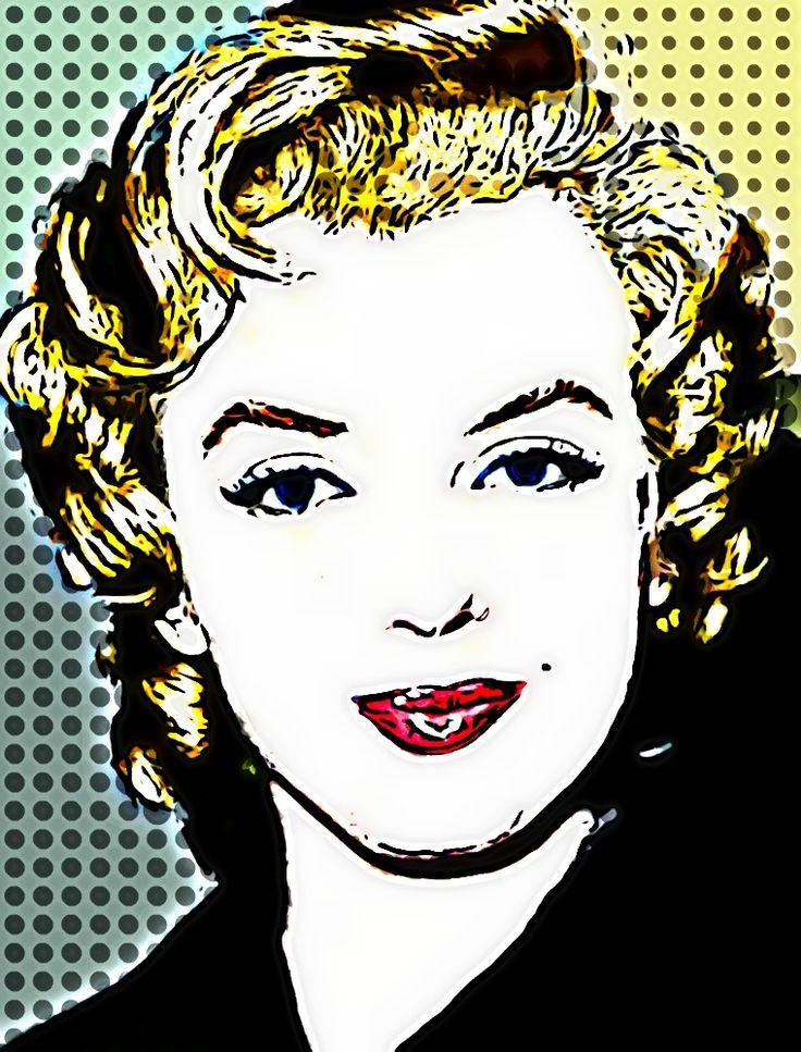 157 best images about pop art on pinterest marilyn. Black Bedroom Furniture Sets. Home Design Ideas
