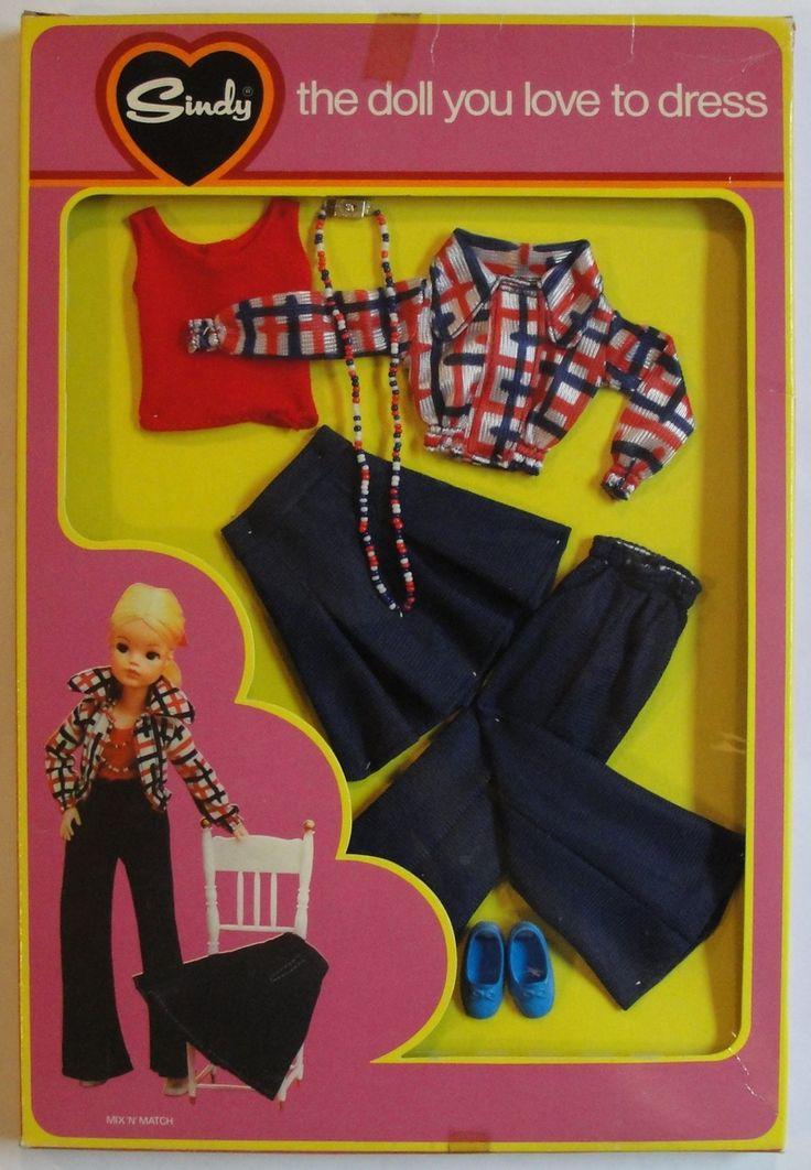 1975 Sindy mix n match, eerste outfit die ik kocht met mijn spaarcentjes