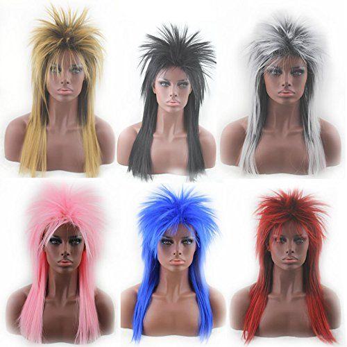 CLOCOLOR Perruque synthétique Accessoire idéal pour déguisement femme fille Nombreux modèles en Boutique Courtes, longues,Jaune,…