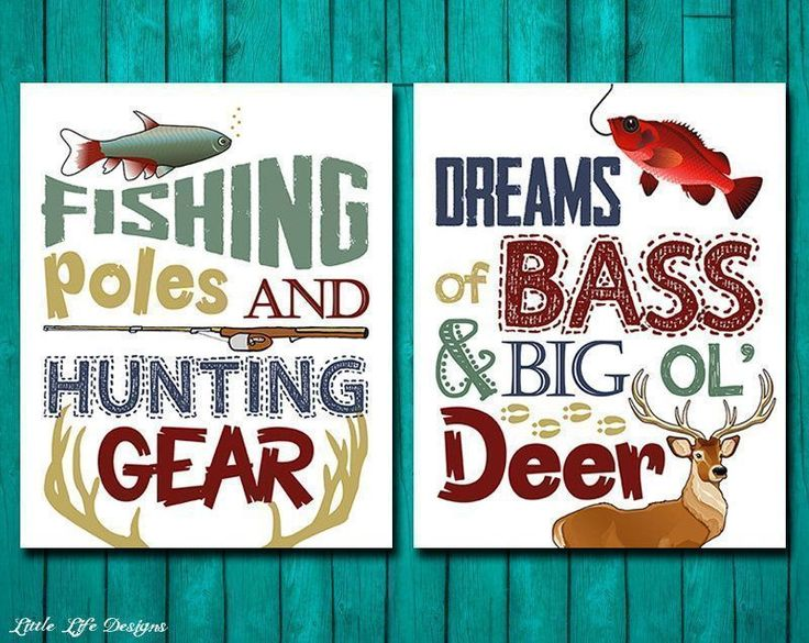 Fishing Poles and Hunting Gear. Hunting & Fishing Nursery. Hunting Nursery. Fishing Nursery. Boys Wall Art. Rustic Decor. Deer Hunting Theme by LittleLifeDesigns on Etsy #deerhuntinggear