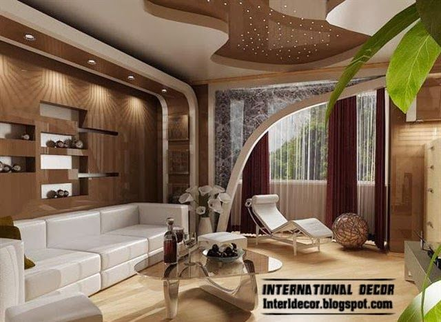 Modern Living Room 2014 suspended ceiling pop designs for living room 2014, suspended