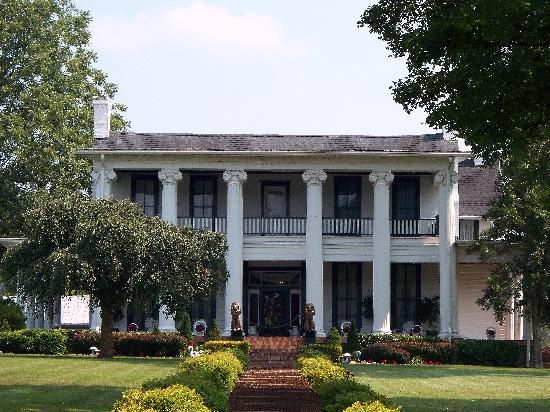 Loretta Lynn's plantation home.. I don't know if it was this house.. but back in the day my great grandpa almost bought the plantation before she did in Tennessee..