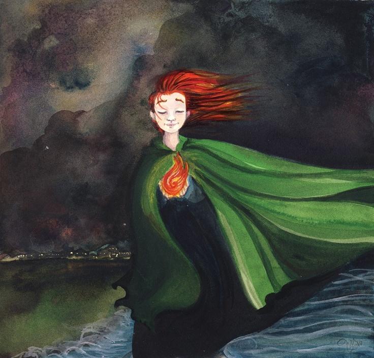 St. Dymphna's Fire by Jen Wojtowicz